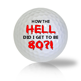Age Of 80 Golf Balls - Half Price Golf Balls - Canada's Source For Premium Used & Recycled Golf Balls