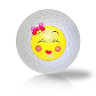 All Dolled Up Emoticon Golf Balls - Half Price Golf Balls - Canada's Source For Premium Used & Recycled Golf Balls