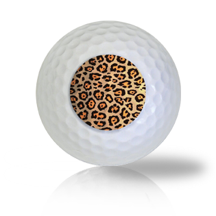 Leopard Skin Print Golf Balls - Half Price Golf Balls - Canada's Source For Premium Used & Recycled Golf Balls