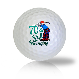 Happy 70th Birthday Golf Balls - Half Price Golf Balls - Canada's Source For Premium Used & Recycled Golf Balls