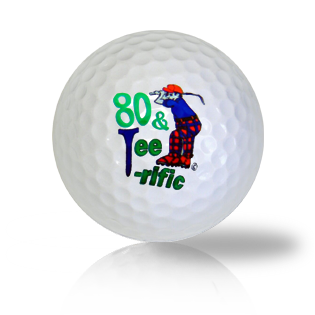 Happy 80th Birthday Golf Balls - Half Price Golf Balls - Canada's Source For Premium Used & Recycled Golf Balls