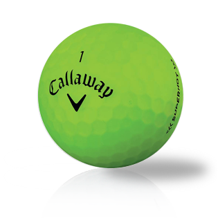 Callaway Superhot Bold Lime - Half Price Golf Balls - Canada's Source For Premium Used & Recycled Golf Balls