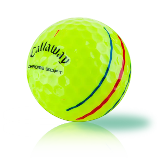 Callaway Chrome Soft Triple Track Yellow