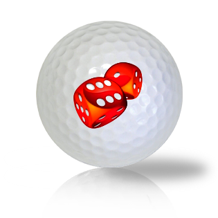 Dice Golf Balls - Half Price Golf Balls - Canada's Source For Premium Used & Recycled Golf Balls