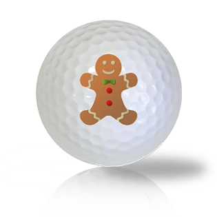 Ginger Bread Man Golf Balls - Halfpricegolfballs