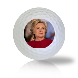 Hillary Clinton Surveying The Crowd Golf Balls - Half Price Golf Balls - Canada's Source For Premium Used & Recycled Golf Balls