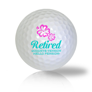 Goodbye Tension, Hello Pension Golf Balls - Half Price Golf Balls - Canada's Source For Premium Used & Recycled Golf Balls