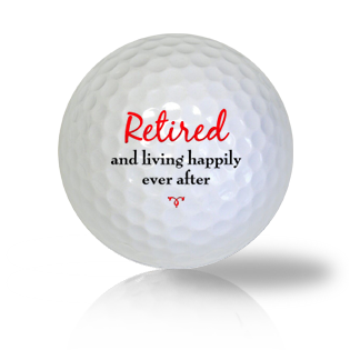 Retired Happily Ever After Golf Balls - Half Price Golf Balls - Canada's Source For Premium Used & Recycled Golf Balls