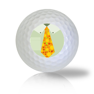 Happy Father's Day Tie Golf Balls - Half Price Golf Balls - Canada's Source For Premium Used & Recycled Golf Balls