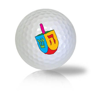 Dreidel Golf Balls - Half Price Golf Balls - Canada's Source For Premium Used & Recycled Golf Balls