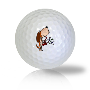 Basset Hound Playing A Saxophone Golf Balls - Half Price Golf Balls - Canada's Source For Premium Used & Recycled Golf Balls