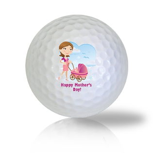 Happy Mother's Day Card Golf Balls - Half Price Golf Balls - Canada's Source For Premium Used & Recycled Golf Balls