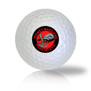 Badgers Have No Fear Golf Balls - Half Price Golf Balls - Canada's Source For Premium Used & Recycled Golf Balls