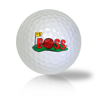 Number One #1 Boss Golf Balls - Half Price Golf Balls - Canada's Source For Premium Used & Recycled Golf Balls