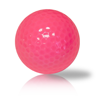 Custom New Pink Blank Balls - Half Price Golf Balls - Canada's Source For Premium Used & Recycled Golf Balls