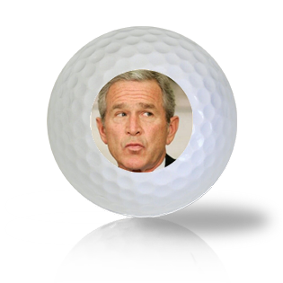 George Bush Golf Balls - Half Price Golf Balls - Canada's Source For Premium Used & Recycled Golf Balls