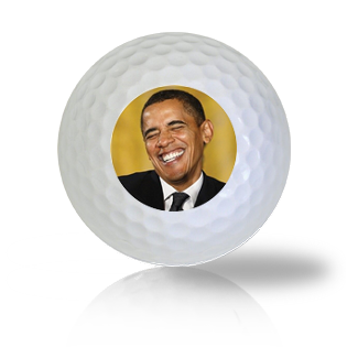 Obama Tickle Golf Balls - Half Price Golf Balls - Canada's Source For Premium Used & Recycled Golf Balls
