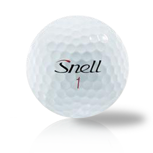 Custom Snell My Tour Ball Black - Half Price Golf Balls - Canada's Source For Premium Used & Recycled Golf Balls