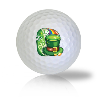 St. Patrick's Day Leprechaun Golf Balls - Half Price Golf Balls - Canada's Source For Premium Used & Recycled Golf Balls