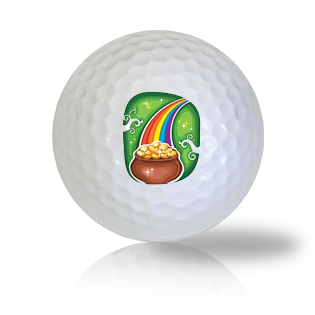 St. Patrick's Day Rainbow Golf Balls - Half Price Golf Balls - Canada's Source For Premium Used & Recycled Golf Balls