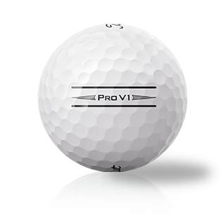 Custom Titleist Pro V1 2020 D-Line - Half Price Golf Balls - Canada's Source For Premium Used & Recycled Golf Balls