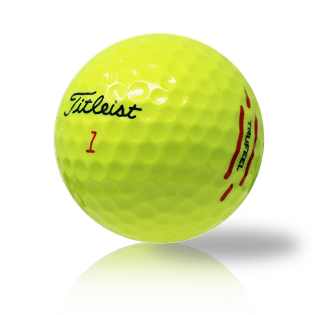 Custom Titleist TruFeel Yellow - Half Price Golf Balls - Canada's Source For Premium Used & Recycled Golf Balls