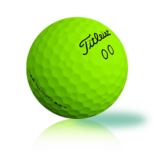 Titleist Velocity Green 2020
