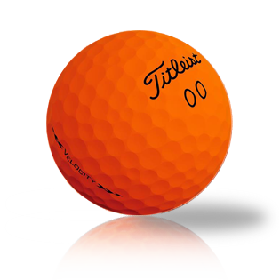 Custom Titleist Velocity Orange 2020