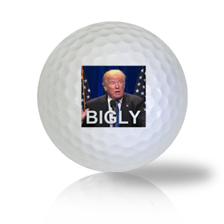 Trump Bigly Golf Balls - Half Price Golf Balls - Canada's Source For Premium Used & Recycled Golf Balls
