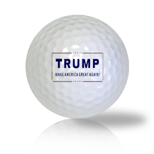 Trump Let's Make America Great Again Golf Balls - Half Price Golf Balls - Canada's Source For Premium Used & Recycled Golf Balls