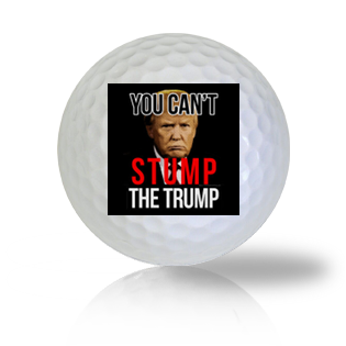 Donald Trump Can't Stump The Trump Golf Balls - Half Price Golf Balls - Canada's Source For Premium Used & Recycled Golf Balls