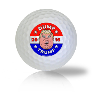 Dump Trump In The Dumpster Golf Balls - Half Price Golf Balls - Canada's Source For Premium Used & Recycled Golf Balls
