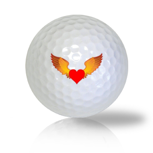 Heart Golf Balls - Half Price Golf Balls - Canada's Source For Premium Used & Recycled Golf Balls