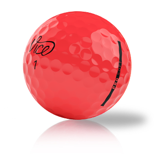 Vice Pro Soft Red - Half Price Golf Balls - Canada's Source For Premium Used & Recycled Golf Balls