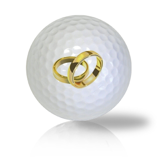 Wedding Rings Golf Balls - Half Price Golf Balls - Canada's Source For Premium Used & Recycled Golf Balls