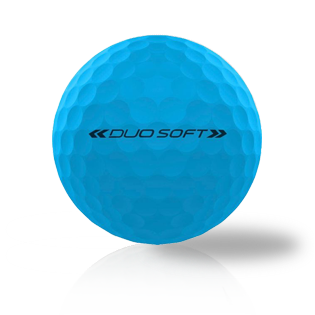 Wilson Duo Soft Optic Blue - Half Price Golf Balls - Canada's Source For Premium Used & Recycled Golf Balls