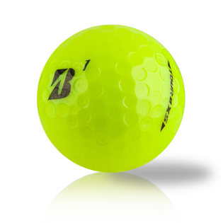 Custom Bridgestone B XS Yellow - Half Price Golf Balls - Canada's Source For Premium Used & Recycled Golf Balls