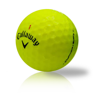 Custom Callaway Chrome Soft Yellow - Half Price Golf Balls - Canada's Source For Premium Used & Recycled Golf Balls