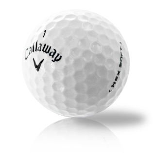 Custom Callaway Hex Soft - Half Price Golf Balls - Canada's Source For Premium Used & Recycled Golf Balls