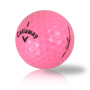 Callaway Hex Solaire Pink - Half Price Golf Balls - Canada's Source For Premium Used & Recycled Golf Balls