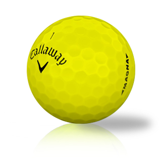 Callaway Supersoft Magna Yellow - Half Price Golf Balls - Canada's Source For Premium Used & Recycled Golf Balls