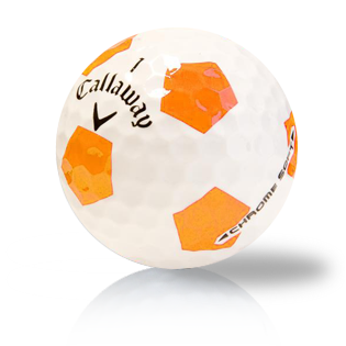 Callaway Chrome Soft Truvis Orange - Half Price Golf Balls - Canada's Source For Premium Used & Recycled Golf Balls