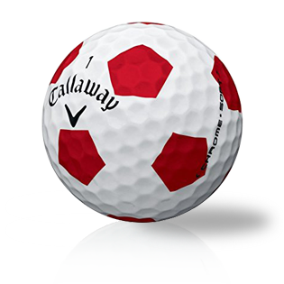 Callaway Chrome Soft X Truvis Red - Half Price Golf Balls - Canada's Source For Premium Used & Recycled Golf Balls