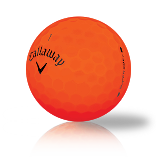 Callaway Supersoft Bold Orange 2019 Used Golf Balls - Foundgolfballs.com