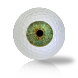 Classic Green Eye Ball Golf Balls - Half Price Golf Balls - Canada's Source For Premium Used & Recycled Golf Balls