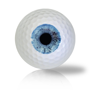 Crystal Blue Eye Ball Golf Balls - Half Price Golf Balls - Canada's Source For Premium Used & Recycled Golf Balls