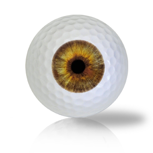 Green Eye Ball Golf Balls - Halfpricegolfballs
