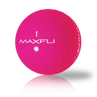 Maxfli SoftFli Matte Pink - Half Price Golf Balls - Canada's Source For Premium Used & Recycled Golf Balls