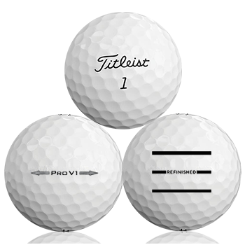 Custom Titleist Pro V1 Refinished (Triple-Line) Used Golf Balls - Foundgolfballs.com