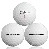 Titleist Pro V1X 2018 Refinished (Straight Line) Used Golf Balls - Foundgolfballs.com